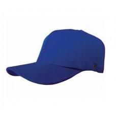 Darbe Emici Şapka (Top Cap) Mavi
