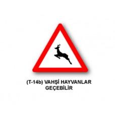 Tehlike Uyarı İşaretleri,T-14b