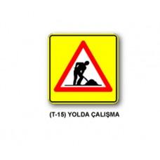 Tehlike Uyarı İşaretleri,T-15