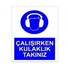 ÇALIŞIRKEN KULAKLIK TAKINIZ,012