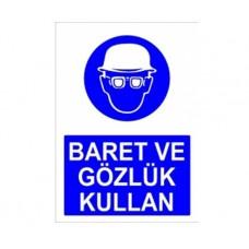 BARET VE GÖZLÜK KULLAN,010