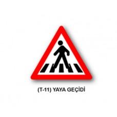 Tehlike Uyarı İşaretleri,T-11