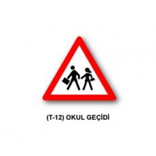 Tehlike Uyarı İşaretleri,T-12