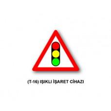 Tehlike Uyarı İşaretleri,T-16