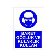 BARET GÖZLÜK VE KULAKLIK KULLAN,006
