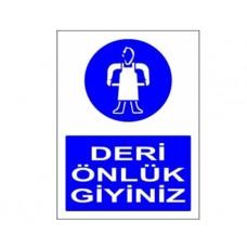 DERİ ÖNLÜK GİYİNİZ,040